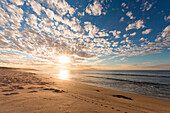 Seascape at sunset, Western Australia