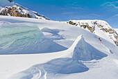 Glaciers of Roger Pass, British Columbia, Canada