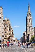 Tron Kirk on The High Street (The Royal Mile), Old Town, Edinburgh, Midlothian, Scotland, United Kingdom, Europe