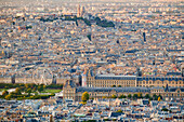 Cityscape of Paris, France