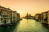 Buildings along canal in Venice, Italy
