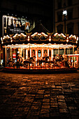 Merry-go-round at Piazza della Repubblica, Florence, Italy, Toscany, Europe