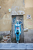 Street Art, Florence, Italy, Toscany, Europe