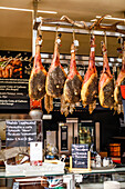Butcher shop, Mercato Centrale Firenze, Florence, Italy, Toscany, Europe