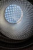Fulton Center, futuristic Subway station and shopping center, Architect Nicholas Grimshaw, Manhattan, NYC, New York City, United States of America, USA, North America
