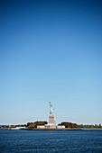 Statue of Liberty on Liberty Island, NYC, New York City, United States of America, USA, North America