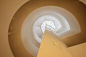 Guggenheim Museum Innenansicht, Frank Lloyd Wright, Upper East Side, Manhattan, New York City, Vereinigte Staaten von Amerika, USA, Nordamerika