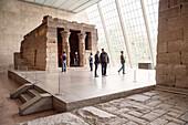 Ägyptischer Tempel im Metropolitan Museum of Art, 5th Avenue, Manhattan, New York City, Vereinigte Staaten von Amerika, USA, Nordamerika