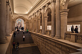 impressive stairway at the Metropolitan Museum of Art, 5th Ave, Manhattan, NYC, New York City, United States of America, USA, North America