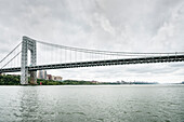 George Washington Bridge, Washington Heights, NYC, New York City, United States of America, USA, Northern America