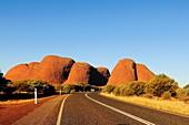 Olgas, Katja Tjuta, Uluru National Park, Northern Territory, Australia, Oceania.