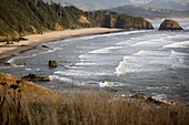 Dramatic Views of the Oregon Coast and Pacific Ocean from Chapman Point.