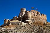 Castillo de Biar. Comarca del Alto Vinalopó. Alicante. Comunidad Valenciana. España. Europa.
