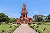 Bajang Ratu temple, Trowulan, Majapahit, Java, Indonesia, Asia.