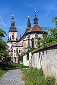 Church of the Nativity of the Virgin Mary, Augustinian Monastery, Roudnice nad Labem, Northern Bohemia, Czech Republic, Europe.