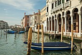 Afternoon on Grand Canal in Venice.
