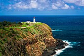 Kilauea Lighthouse, Kilauea National Wildlife Refuge, Kilauea, Kauai, Hawaii USA.