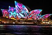 Sydney,Australia,Tuesday 30th May 2017. Vivid Sydney light show at Circular Quay.