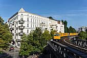 Metro at Schlesisches Tor, Kreuzberg Berlin, Germany