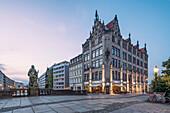 Hochzeitshaus, Juwel-Palais,  Gertraudendenkmal, Spittelmarkt, Berlin