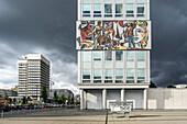 Haus des Lehrers. Architect Hermann Henselmann 1964, BCC, Congress Center, Berlin