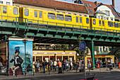 Famous sausage fast food  Konnopkes in Berlin Prenzlauer Berg