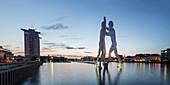 River Spree, Molecule  Men by Artist Jonathan Borofsky, Berlin , Germany