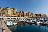 Old Port Nice, Alpes Maritimes, Provence, French Riviera, Mediterranean, France, Europe