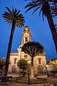 Iglesia de la Pena de Francia church Puerto de la Cruz city Tenerife island