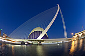 Agora, Puente de l Assut, bridge, City of sciences, Calatrava, Valencia, Spain