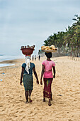 Local women, Grand Bassam, Ivory Coast, West Africa, Africa