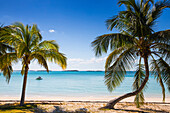 Beach in North of island, Hope Town, Elbow Cay, Abaco Islands, Bahamas, West Indies, Central America