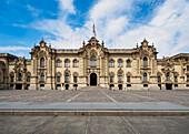 Government Palace, Plaza de Armas, Lima, Peru, South America