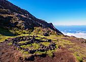 Mount Pico Slope, Pico Island, Azores, Portugal, Atlantic, Europe