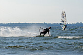 Kitesurfing, Grüne Wiek, Rügen, Ostseeküste, Mecklenburg-Western Pomerania, Germany