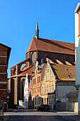 St. Nikolai Church, Wismar, Baltic Sea Coast, Mecklenburg-Vorpommern, Germany