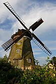 Windmill of Benz, Usedom, Ostseeküste, Mecklenburg-Western Pomerania, Germany