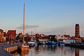 At the harbor, Wismar, Ostseeküste, Mecklenburg-Western Pomerania, Germany