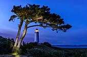 Lighthouse Dornbusch, Hiddensee, Rügen, Baltic Sea Coast, Mecklenburg-Vorpommern, Germany