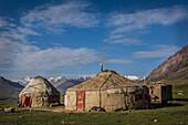 Kyrgyz yurt in Khash Goz, Afghanistan, Pamir, Asia