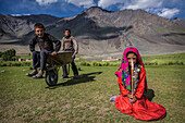Wakhi children in Sarhad, Wakhan, Afghanistan, Asia