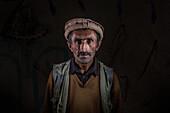 Afghan man portrait, Wakhan, Afghanistan, Asia