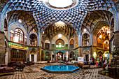 Timcheh Amin al-Dowleh in the bazaar of Kashan, Iran, Asia