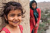 Smiling child in Iran, Asia