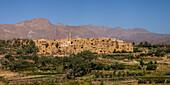Ruined Kharanaq, Iran, Asia