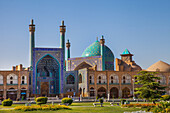 Shah mosque of Naqsh-e Jahan square in Esfahan, Iran, Asia
