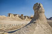 Erosion landscape of Qeshm, Iran, Asia