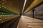 Subway of Prague,  Czech Republic, Europe