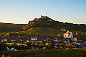 Castle Falkenstein at Poysdorf, Lower Austria, Europe