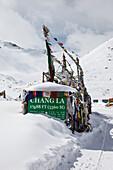 Chang La pass in Ladakh, India, Asia